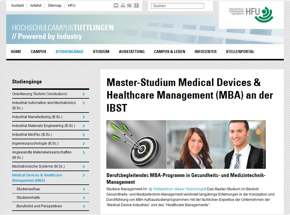 Screenshot Medical and Healthcare Management